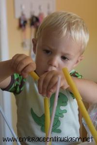 Pasta and Straws