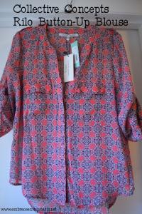 rilo button up blouse