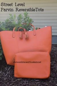 Street Level Reversible Tote