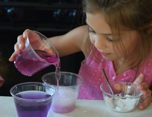 Testing for acids