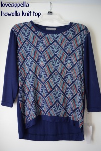 loveppella howella knit top