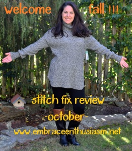 Stitch Fix October Review
