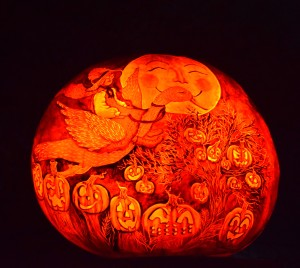 Mother Goose Pumpkin