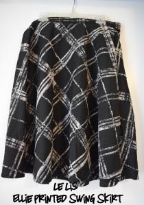 Le Lis Ellie Printed Swing Skirt- Stitch Fix