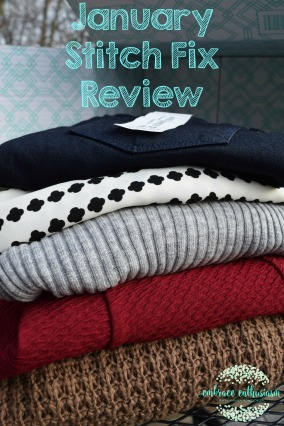January Stitch Fix Review