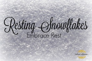 Resting Snowflakes