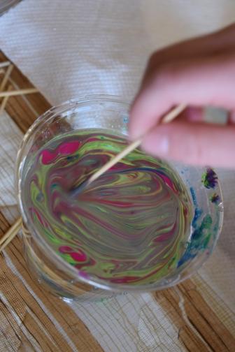 Nail Polish Marble Eggs