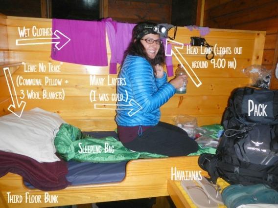 hut life
