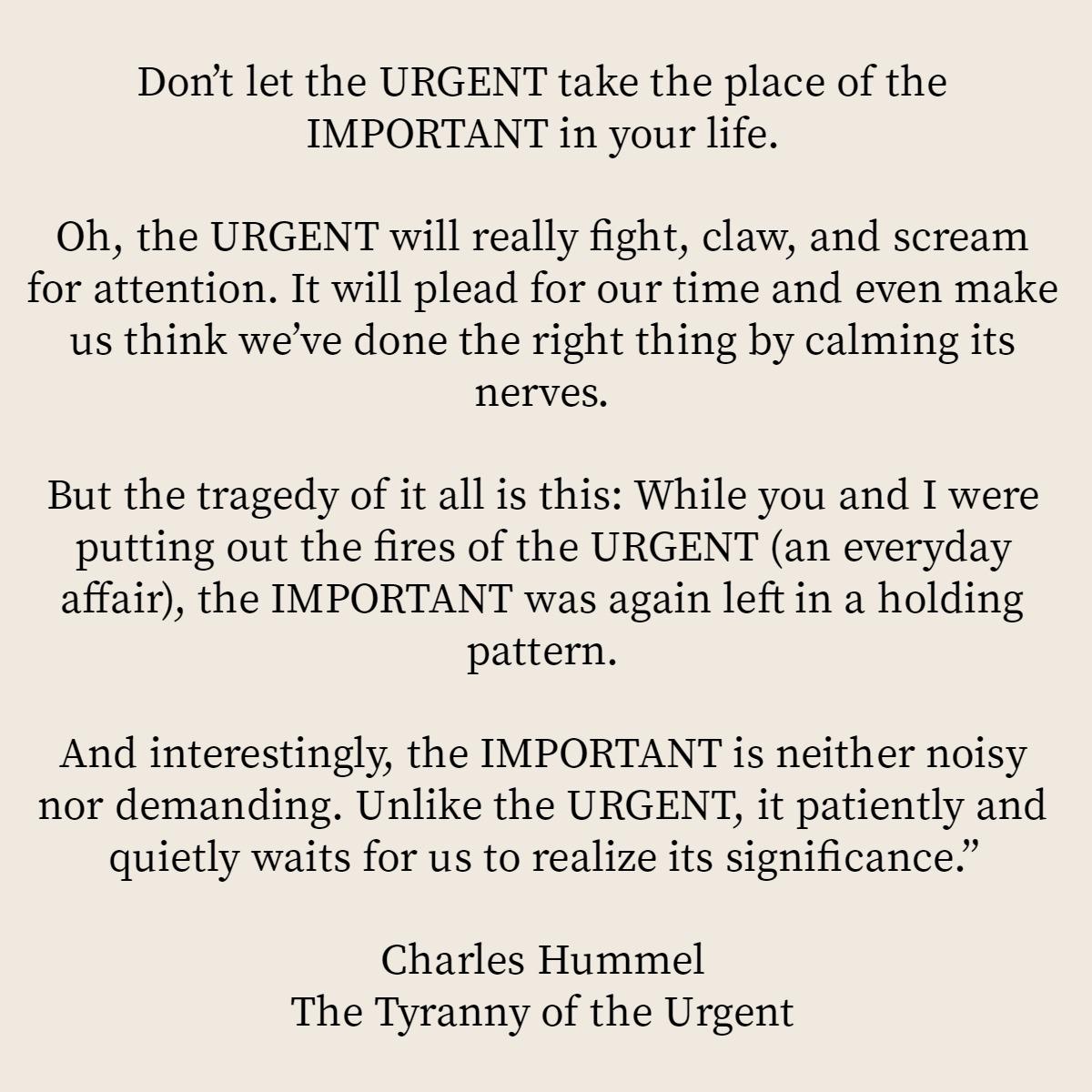 importantvsurgent