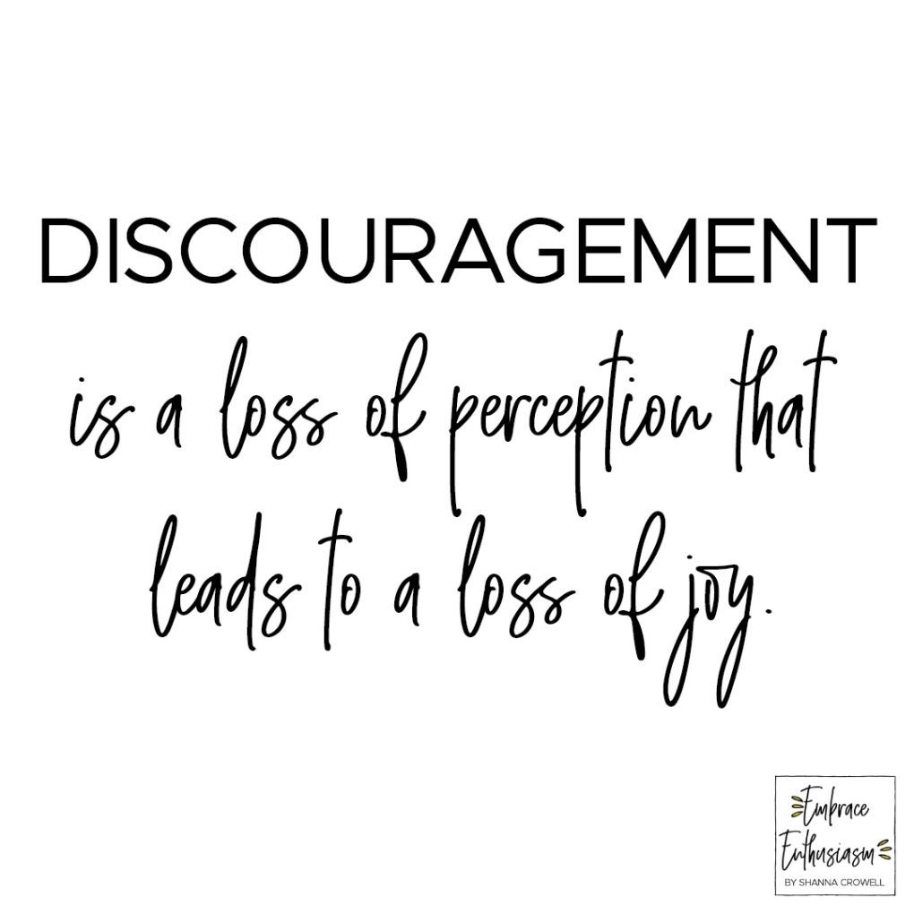 discourgement