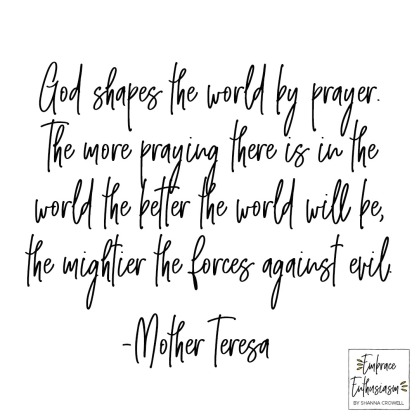 prayerinworldmotherteresa